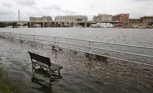 La ville de Washington sous les eaux en septembre 2016.