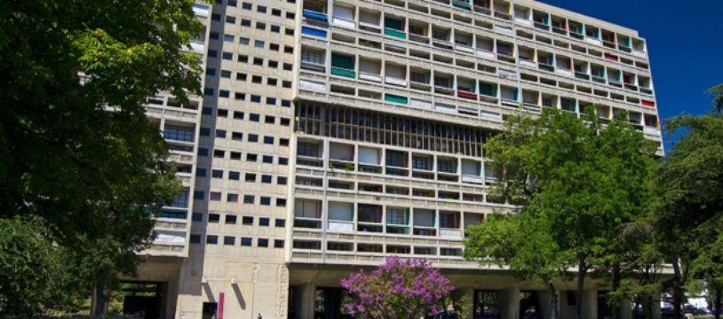 La Cité radieuse de l'architecte Le Corbusier, à Marseille.