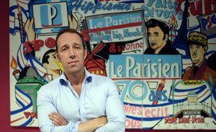 Stephane Albouy, directeur des rédactions du «Parisien - Aujourd'hui en France»
