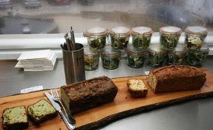 Des cakes bio, cuisinés par le chef Marc Veyrat.