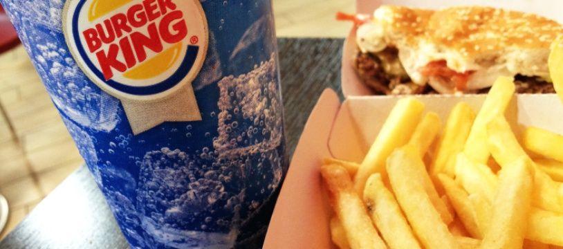Burger King (illustration).