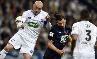 Les Auxerrois ont perdu contre Paris en finale de la Coupe de France le 30 mai 2015.