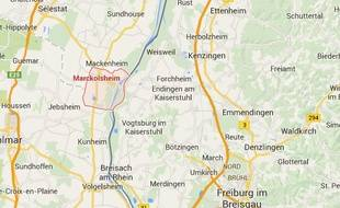 Marckolsheim, Bas-Rhin.