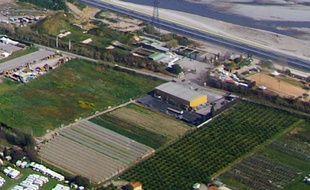 La parcelle s'étend sur 30 hectares.