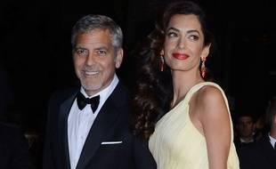 George et Amal Clooney sont les parents d'Ella et Alexander.