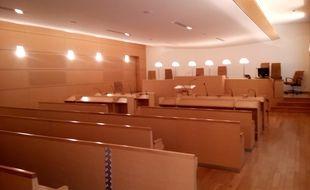 Une salle d'audience (illustration).