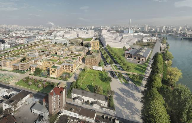 Le projet Manufacture-sur-Seine, le long du quai Henri Pourchassé à Ivry-sur-Seine, devrait être lancé courant 2022.