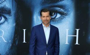 L'acteur Nicolaj Coster Waldau à la première de Game of Thrones, à Los Angeles.