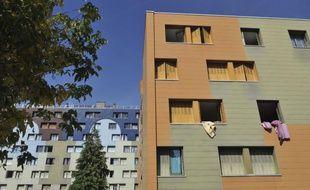 L'immeuble de la famille de Fiona disparue le 12mai 2013, à Clermont-Ferrand
