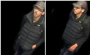 La police a publié des photos du kamikaze Salman Abedi prises par une caméra de surveillance la nuit de l'attentat de Manchester.