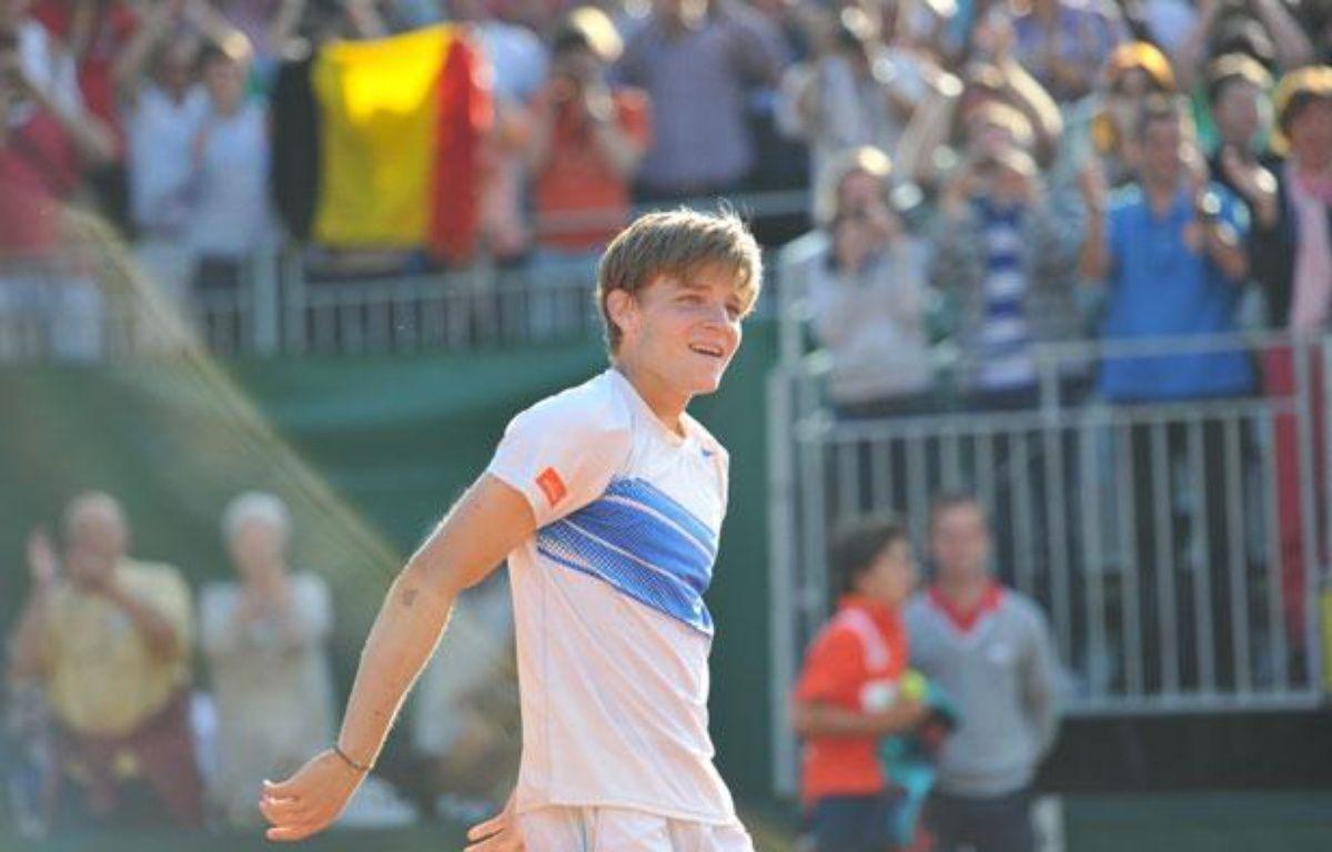 Le Belge David Goffin, le 1er juin 2012, àRoland-Garros. – A.GELEBART / 20Minutes