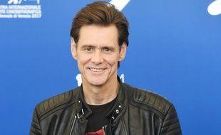 L'acteur Jim Carrey à la Mostra de Venise