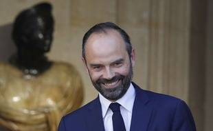 Le Premier ministre, Edouard Philippe, le 15 mai 2017 à Matignon. AP Photo/Kamil Zihnioglu