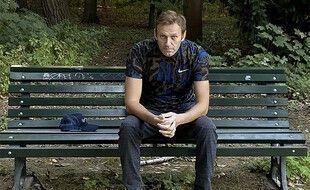 Alexei Navalny à Berlin, le 23 septembre 2020, après sa sortie de l'hôpital.
