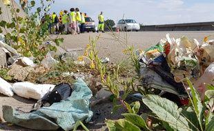 VIDEO. Strasbourg: Près de 30 tonnes de déchets collectées sur les autoroutes