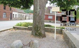 La pierre enchaînée à Gauchin-le-Gal, dans le Pas-de-Calais