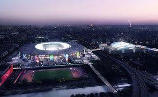 Les sites olympiques de Paris 2024 : Stade de France - Centre aquatique Cérémonie - Athlétisme - Natation
