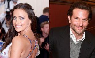 Irina Shayk et Bradley Cooper, en mai, à New York.