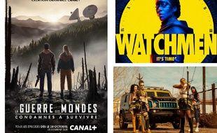 Montage: «La Guerre des mondes», «Watchmen», et «Daybreak»