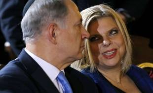 Le Premier ministre israélien, Benyamin Netanyahou, et sa femme Sara, le 1er décembre 2013.