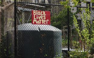 Une pancarte du mouvement anti-raciste Black lives matters, aux Etats-Unis. (illustration)