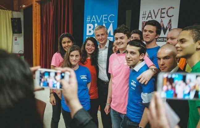 «Les Jeunes avec Bruno Le Maire»...