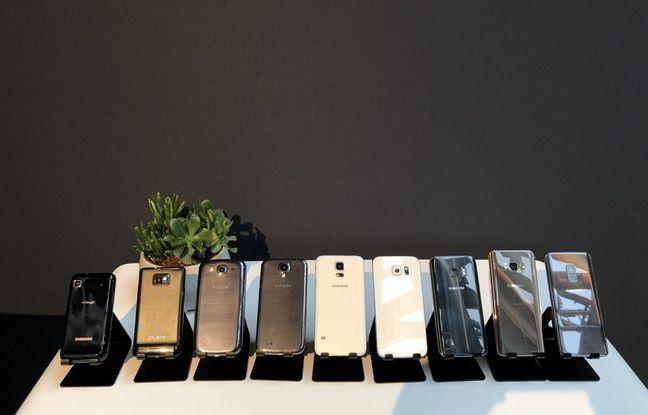 Dix ans de Galaxy S chez Samsung.