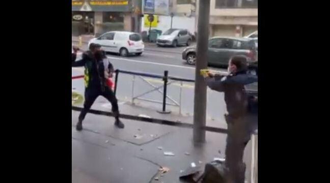 Montrouge: Un homme armé de deux couteaux fait les 100 pas devant l'office français de l'immigration et de l'intégration