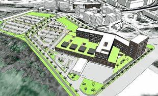 La future clinique devrait ouvrir au Port du Rhin d'ici à la fin 2016.