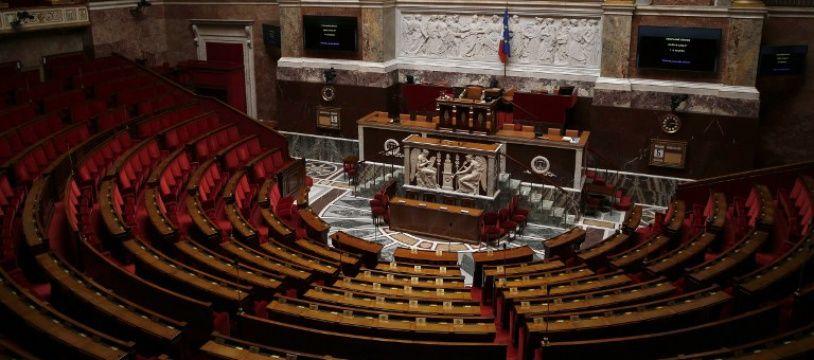Assemblée nationale vide.