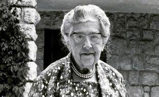 Agatha Christie le 15 septembre 1967