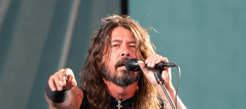 L'artiste Dave Grohl