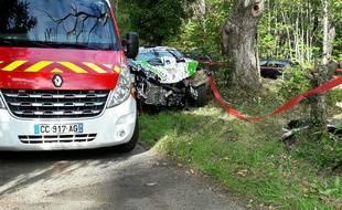 Le pilote Anthony Mora a trouvé la mort dans un accident lors du 22° Rallye de Sarlat