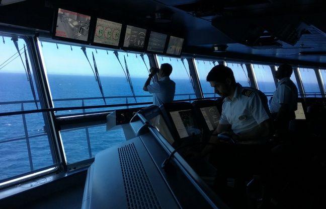 La passerelle du Symphony of the seas