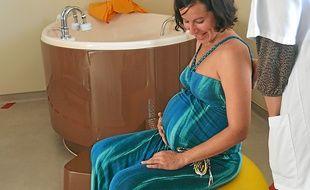 """La salle d'accouchement """"naturel""""."""