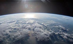 La planète Terre.