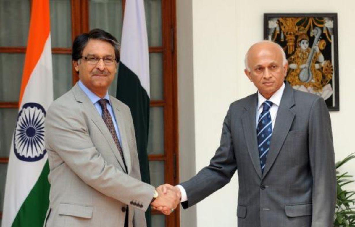 De hauts responsables de la diplomatie indienne et pakistanaise se sont rencontrés mercredi à Delhi pour poursuivre le fragile dialogue de paix, miné par de nouvelles tensions liées à des accusations sur la responsabilité d'Islamabad dans les attentats de Bombay en 2008. – Raveendran afp.com