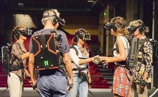 La biennale de la danse à Lyon propose pour la première fois des expériences de danse connectée via la réalité virtuelle
