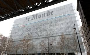 Paris le 19 janvier 2012. Bd Auguste Blanqui. Locaux actuels du journal Le Monde.