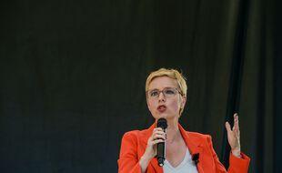 Clémentine Autain, le 13 juin 2021 à Montreuil.