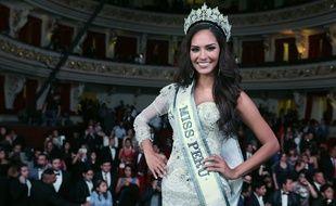 Miss Perou 2017, Romina Lozano, le 31 octobre 2017