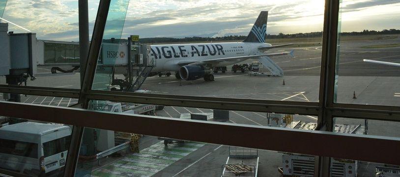 Un avion Aigle Azur