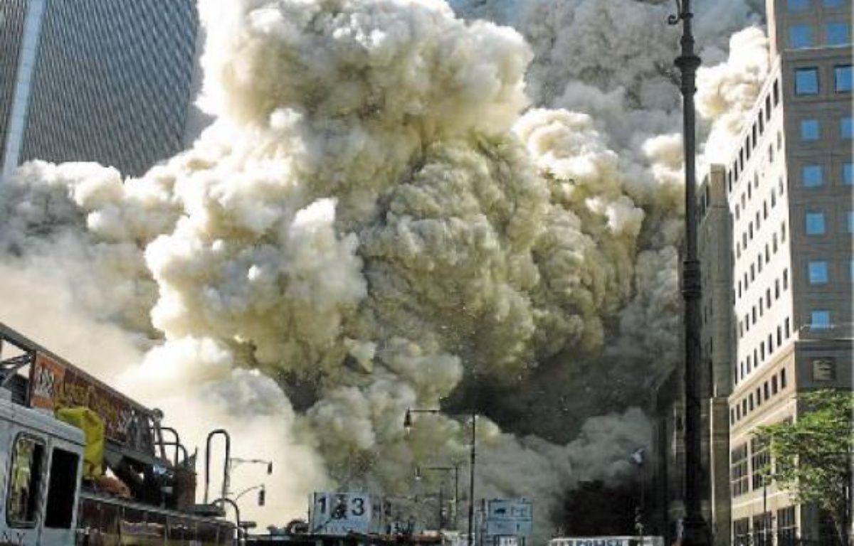 Le 11 septembre 2001, lors des attentats du World Trade Center, à New York. –  BIGGART / SIPA