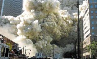 Le 11 septembre 2001, lors des attentats du World Trade Center, à New York.