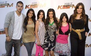 Une partie de la famille Kardashian en 2008.