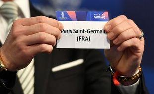 Le PSG  attend de connaître son adversaire en 8e de finale de C1.