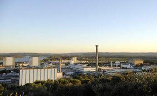 Le site nucléaire de Marcoule, le 12 septembre 2011.