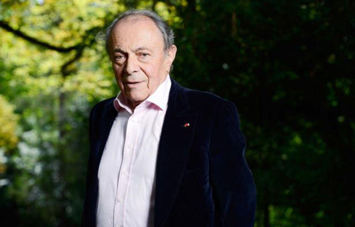 L'ancien Premier ministre Michel Rocard, le 26 août 2012, au village e Chanceaux-pres-Loches. –  BALTEL/SIPA
