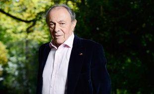 L'ancien Premier ministre Michel Rocard, le 26 août 2012, au village e Chanceaux-pres-Loches.