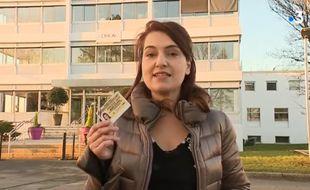 Marie Roussel, la journaliste de France 3 qui n'a pas pu suivre Edouard Philippe lors de sa visite de L'Oréal.